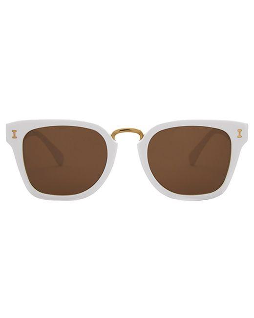 Illesteva White Positano Sunglasses