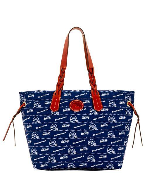 Dooney & Bourke - Blue Nfl Seahawks Shopper - Lyst