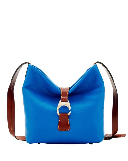 Dooney & Bourke Blue Derby Pebble Crossbody Hobo