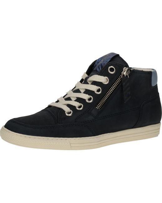 Paul Green Blue Sneaker Leder