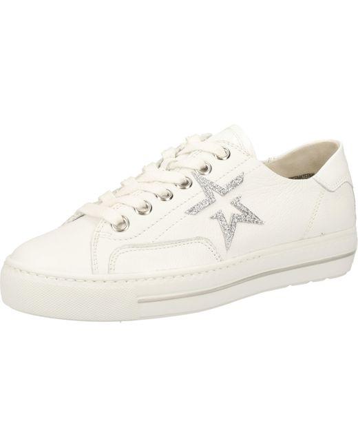 Paul Green White Sneaker Glattleder