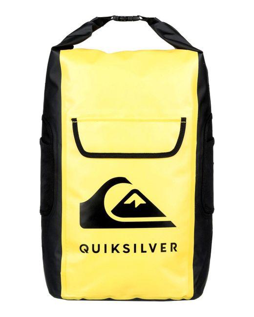 Quiksilver Drybag Sea Stash 35L in Yellow für Herren