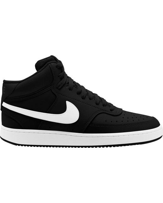 Nike Black Sneaker Court Vision Mid