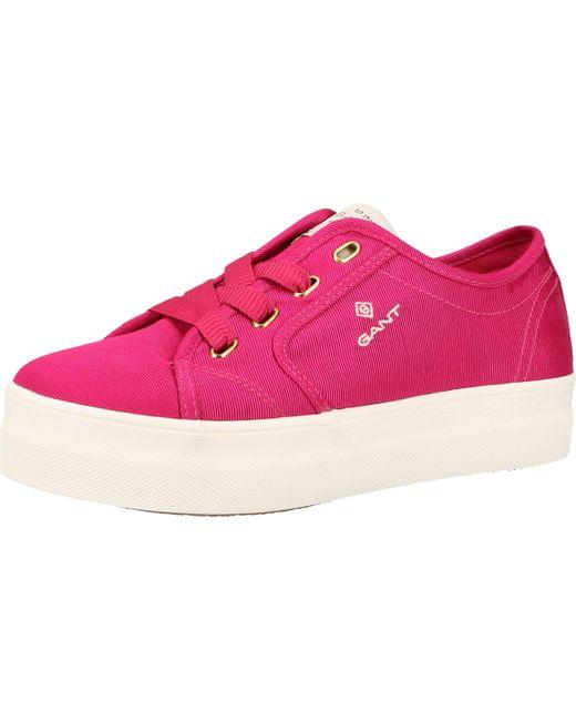 Gant Pink Sneaker Textil