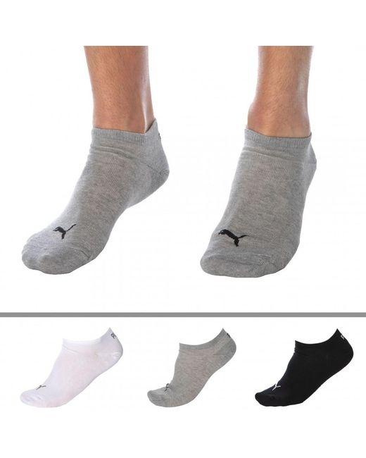 Lot de 3 Paires de Socquettes Coton PUMA pour homme en coloris ...