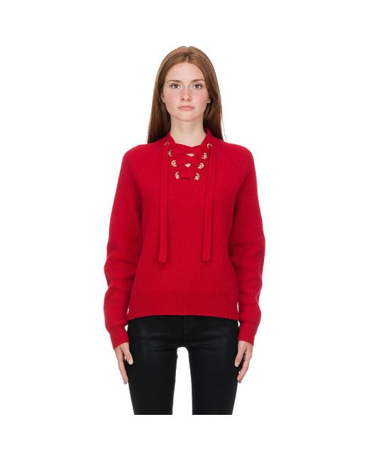 Zadig & Voltaire Red Kassy Pullover