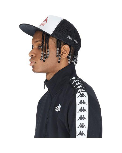 Kappa Black Authentic Bzadwal Cap for men