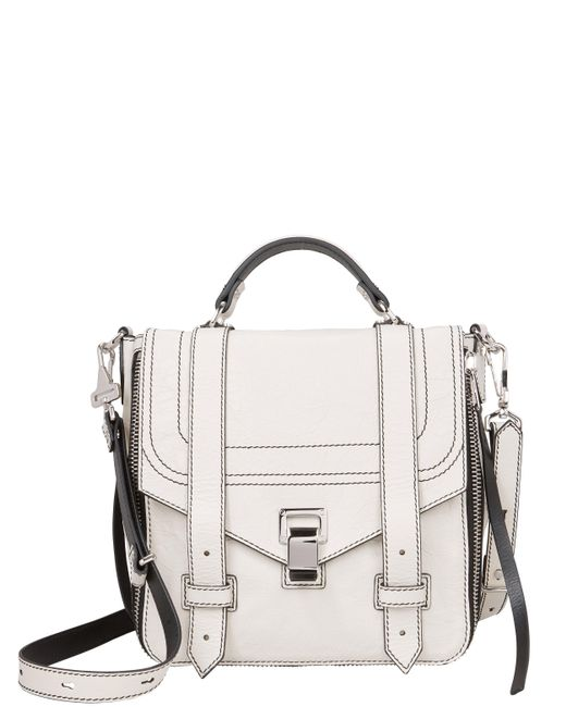 Proenza Schouler - White Ps1+ Zip Leather Backpack - Lyst