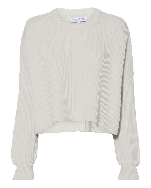 Intermix - White Kerri Sweater - Lyst