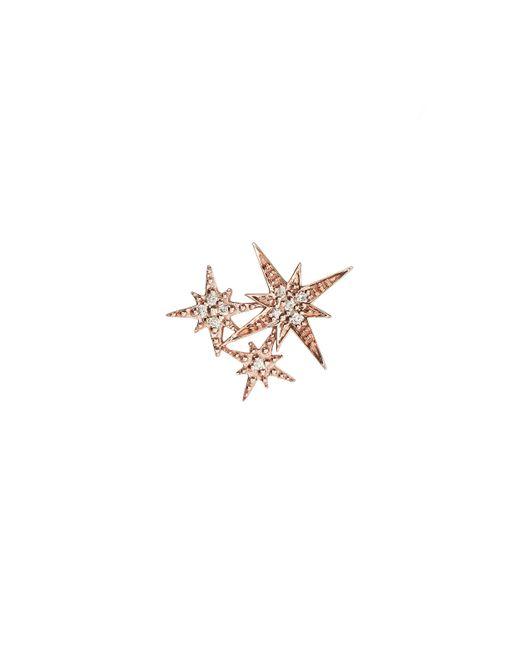 Sydney Evan - Metallic Triple Starburst Diamond Stud Earrings - Lyst