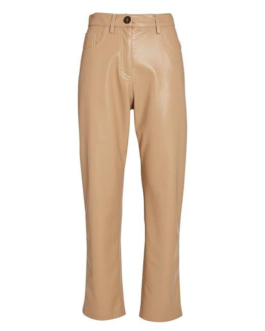 Nanushka Multicolor Ivy Vegan Leather Trousers