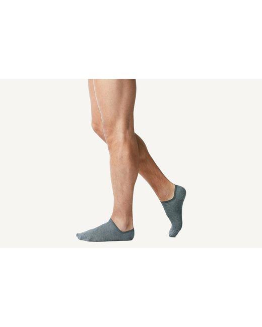 Intimissimi - Gray Tartan Cotton Ribbed Trainer Socks for Men - Lyst