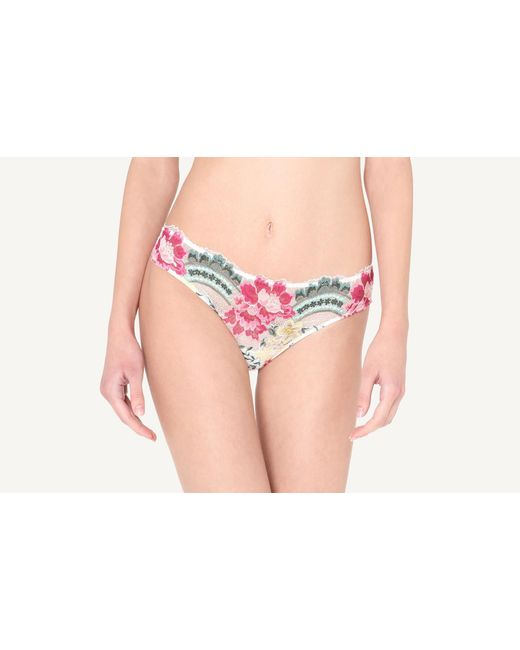 Intimissimi Pink The Secret Garden Cheeky Panties