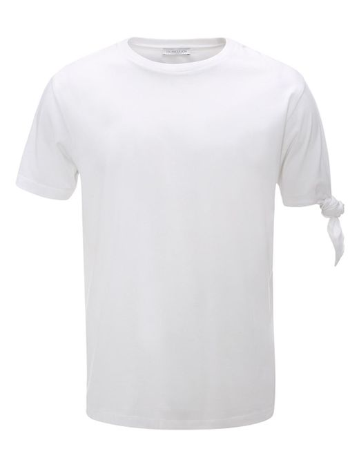 J.W.Anderson | White Single Knot T-shirt for Men | Lyst