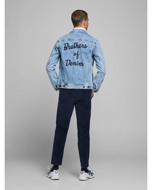 Vega Velours Côtelé Chinos Jack & Jones pour homme en coloris Blue