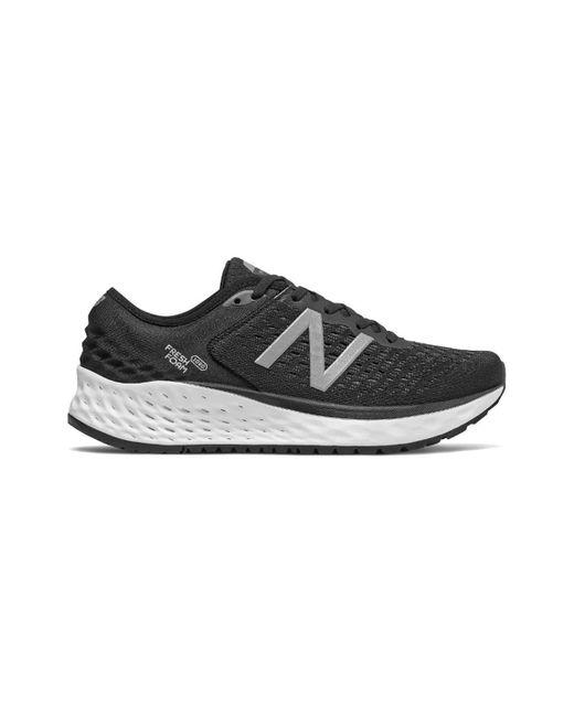 New Balance Black 1080v8 Fresh Foam Running Shoe