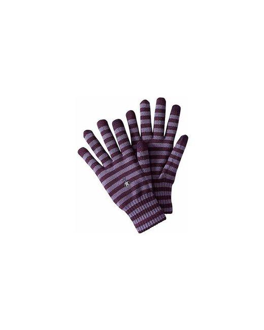 Smartwool | Purple Striped Liner Gloves | Lyst