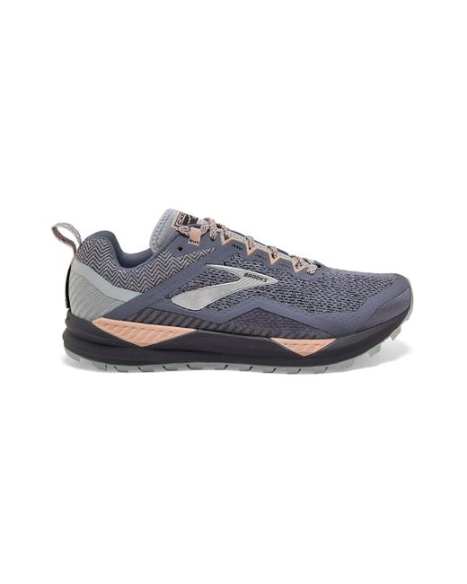 Brooks Gray Cascadia 14 Trail Running Shoe Availability: In Stock $129.95 for men