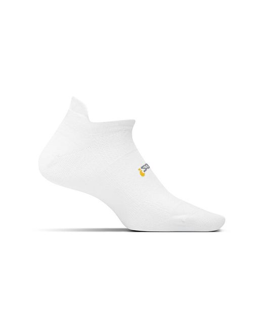Feetures White Unisex Hp Ultra Light No Show Tab Sock Availability: In Stock $12.99 for men