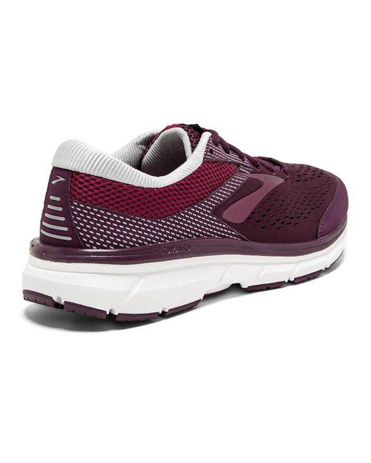 4f6481d3a63 ... Lyst Brooks - Dyad 10 (purple pink grey) Women s Running Shoes ...