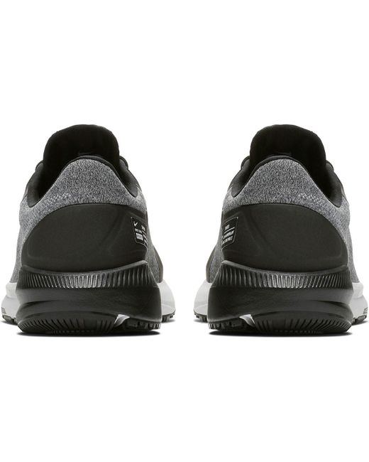 26ca3255273e ... Nike - Black Air Zoom Structure 22 Shield Running Shoe for Men - Lyst  ...