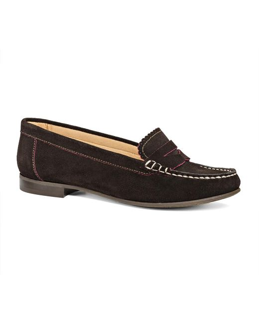 Jack Rogers - Brown Exclusive Quinn Suede Loafer - Lyst