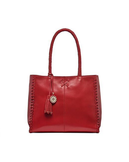 Jack Rogers - Red Bianca Tote - Lyst