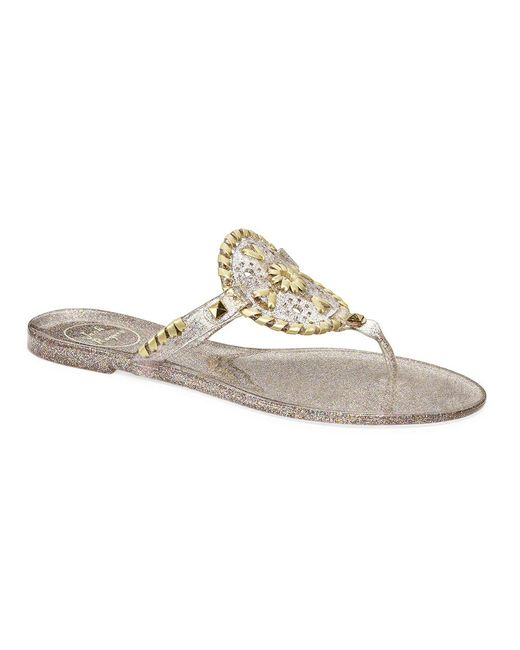 Jack Rogers - Multicolor Sparkle Georgica Jelly - Lyst