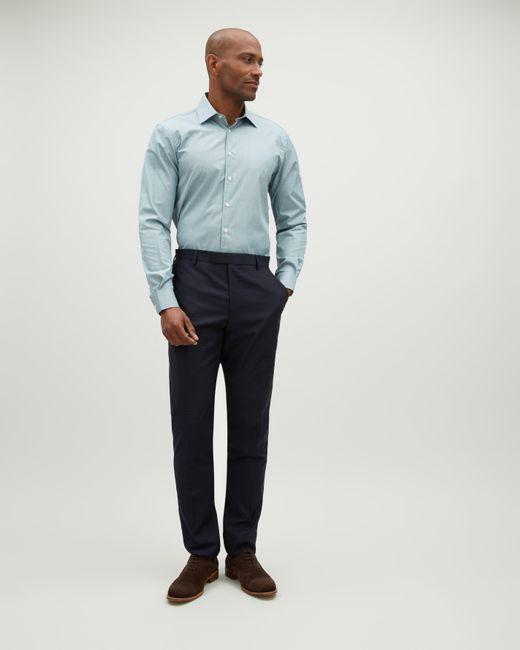 Jaeger - Blue Slim Shadow Check Trouser for Men - Lyst