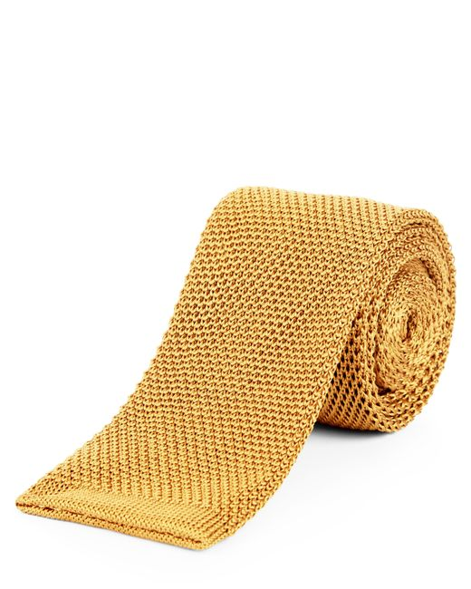 Jaeger - Metallic Silk Knitted Slim Tie for Men - Lyst