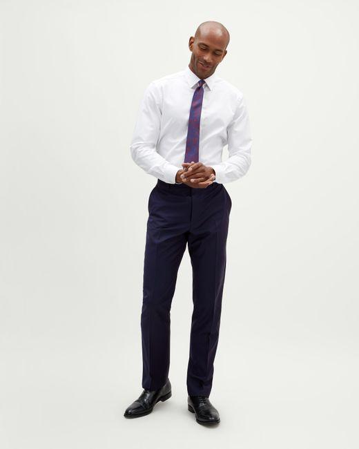 Jaeger - Blue Regular Pinstripe Trouser for Men - Lyst