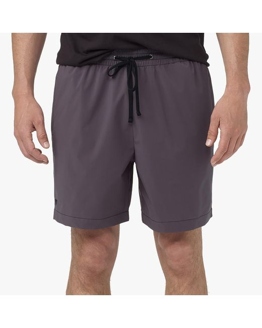 James Perse | Gray Yosemite Classic Swim Trunk for Men | Lyst
