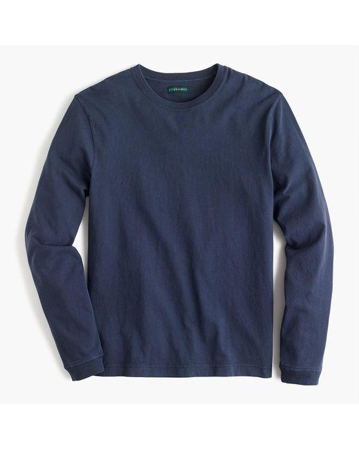 J.Crew Blue 1994 Long-sleeve T-shirt for men