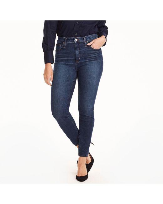 J.Crew - Blue Tall Curvy Toothpick Jean In Dryden Wash - Lyst