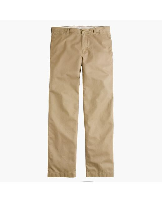 J.Crew | Natural Broken-in Chino Pant In 1040 Athletic Fit for Men | Lyst