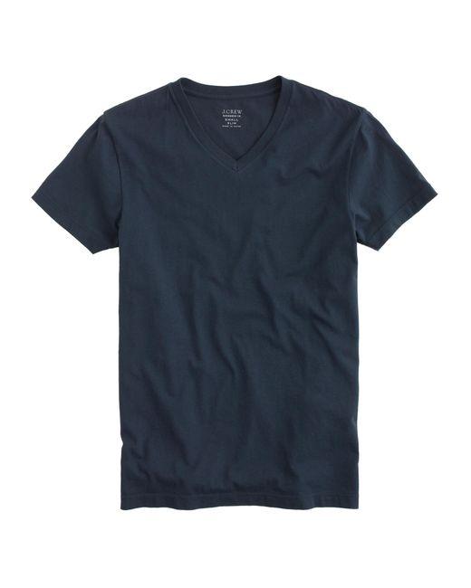 J.Crew | Blue Slim Broken-in V-neck T-shirt for Men | Lyst