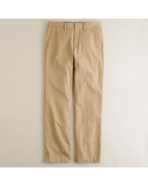 J.Crew   Brown Bowery Classic Pant In Cotton Twill for Men   Lyst