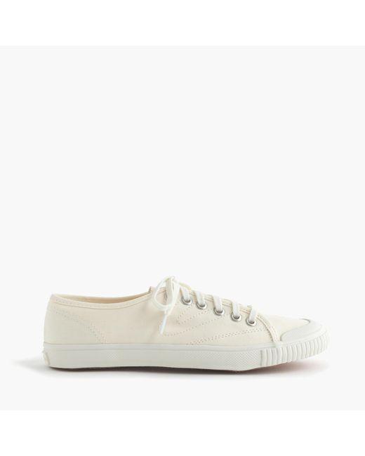 J.Crew   White Women's Tretorn Canvas T56 Sneakers   Lyst