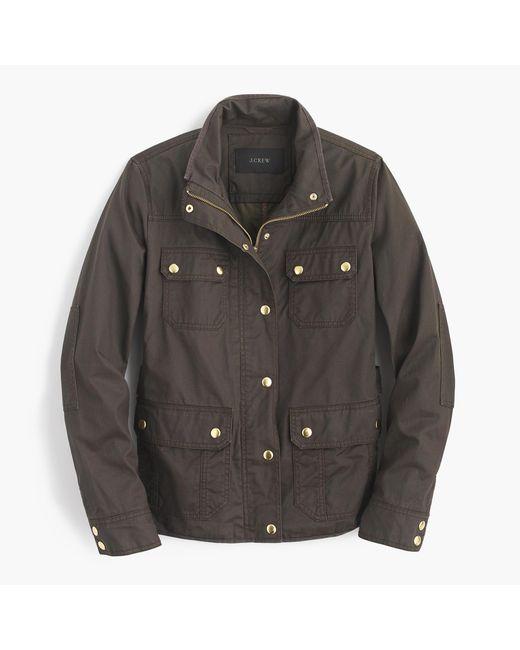 J.Crew | Black The Downtown Field Jacket | Lyst