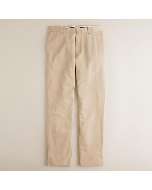 J.Crew   Natural Essential Chino Pant In 770 Fit for Men   Lyst