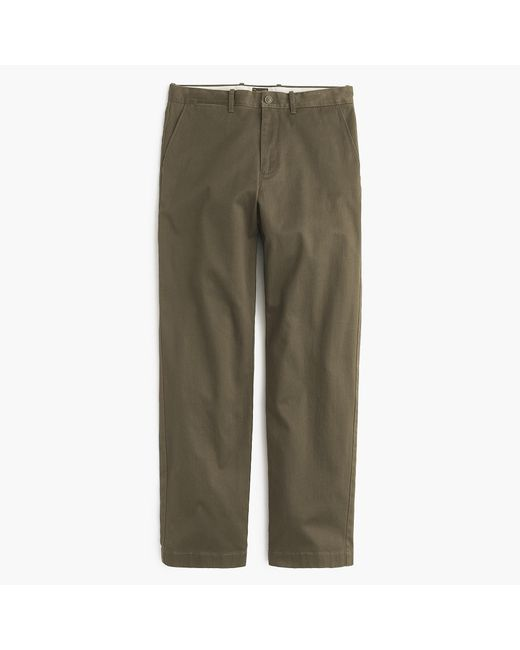 J.Crew - Green 1450 Relaxed-fit Stretch Chino for Men - Lyst