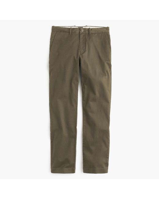 J.Crew - Green 1040 Athletic Fit Stretch Chino for Men - Lyst