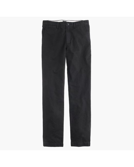 J.Crew - Black Broken-in Chino Pant In 770 Straight Fit for Men - Lyst