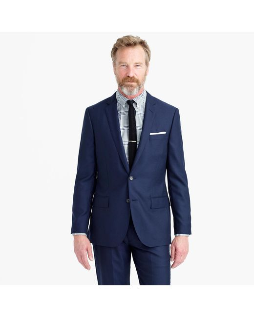 J.Crew | Blue Ludlow Suit Jacket In Italian Cashmere for Men | Lyst