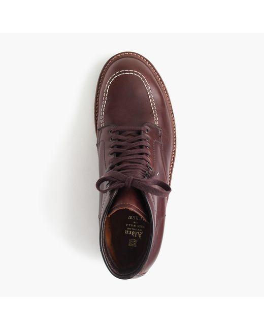 Alden Brown ® For J.crew 405 Indy Boots for men