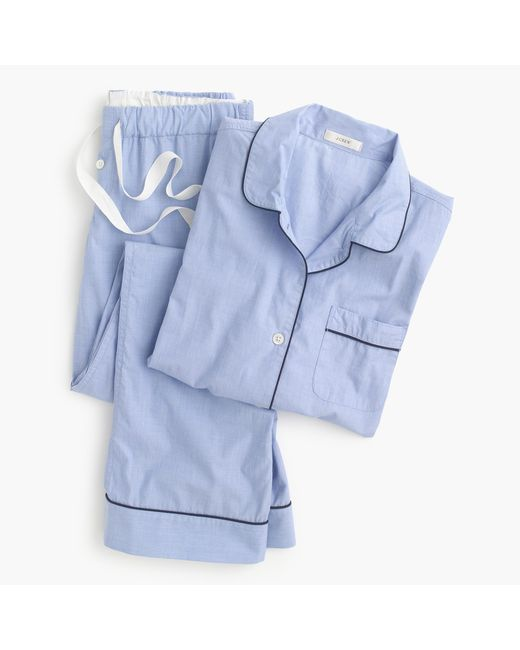 J.Crew | Blue Petite Vintage Pajama Set for Men | Lyst