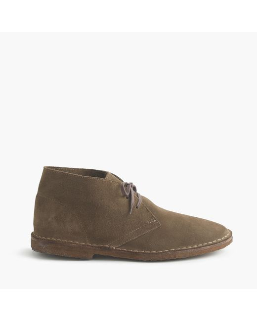 J.Crew - Gray Unisex 1990 Macalister Boot In Suede for Men - Lyst