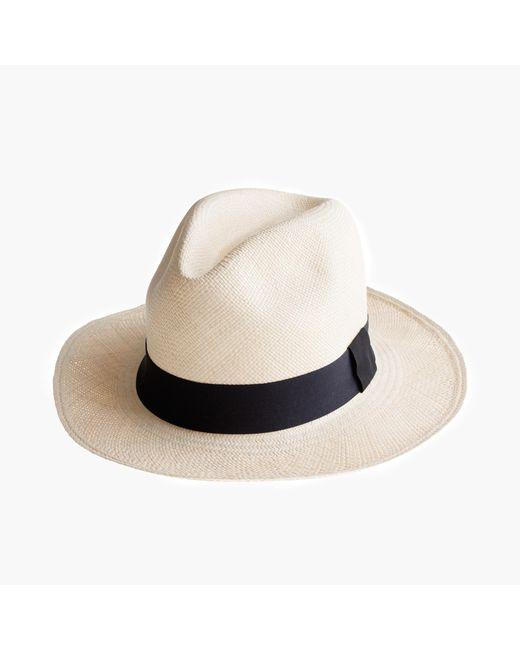 J.Crew Natural Panama Hat