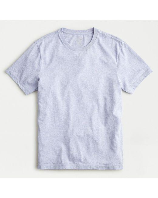 J.Crew Blue Broken-in Short-sleeve T-shirt for men