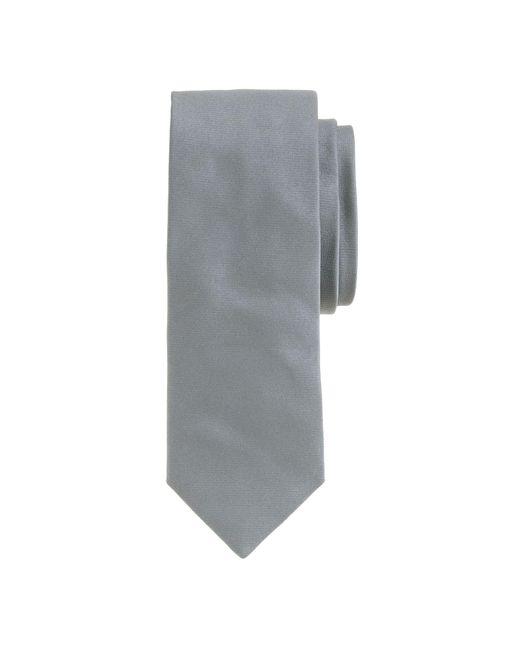 J.Crew | Gray English Satin Tie for Men | Lyst